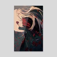 Rose Garden - Acrylic by shonocondo