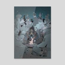 Ritual Mystik - Acrylic by Dirty Robot