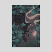 Alder - Canvas by Fez Inkwright