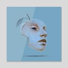 Luckyseed Series .10 - Acrylic by Nicole  Wheat