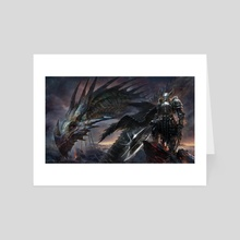 Dragon Soldier - Art Card by DIMITRIOS IOANNIDIS