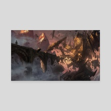 Foreboding Ruins - Canvas by Adam Paquette