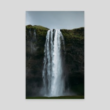 Waterfall - Canvas by Jason Satterfield