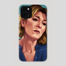 Bernie Wolfe - Phone Case by Mali Ware