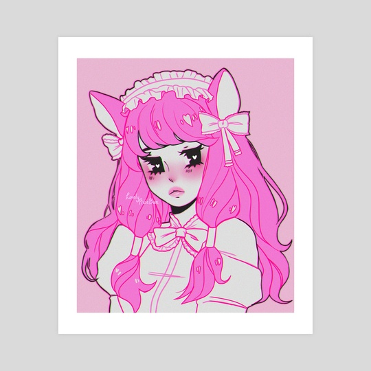 Pink Gothic Nya by Rose Bun