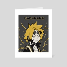 Kaminari Poster - Art Card by Kazi Sakib