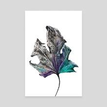 Leaf - Canvas by Nika