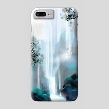 Waterfall - Phone Case by Lana Chan