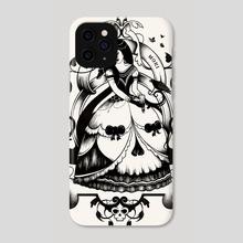 Mrs. Death II - Phone Case by Enkel Dika