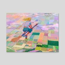 Fly Girl - Acrylic by Madeline Haynes