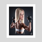 Holly Holm - Art Print by Andre Koekemoer
