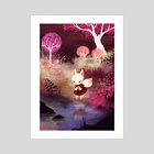 The Woods - Art Print by Lana Chan