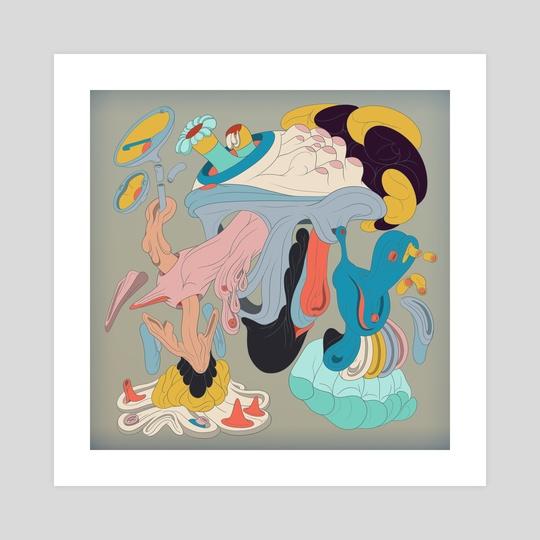 Biomorph Series #8 by youngspeak art