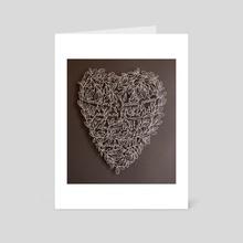 The End - Art Card by karen tharp