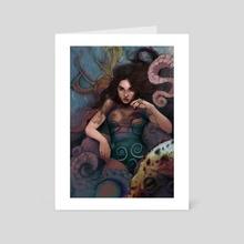 Octopussy - Art Card by Jakub Rosenberger