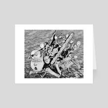 Veiny River - Art Card by Zach Hazard Vaupen