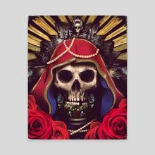 Santa Muerte - Canvas by Foreigner Art