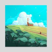 Summer dreams - Canvas by Arina Mochalova