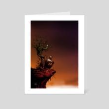 solitude - Art Card by Eugene Marasigan