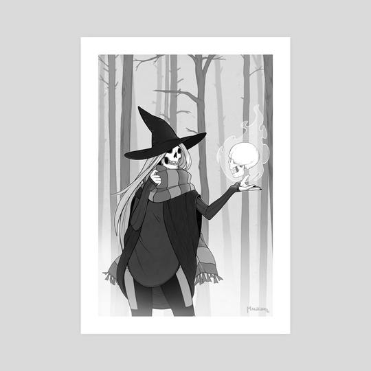 Skull Witch by Bridget Wilson