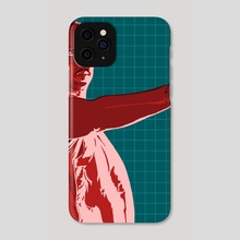 Wake up, time to die - Phone Case by Mark Fielding