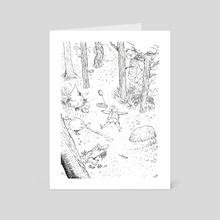 Woods - Art Card by Chubi Nok