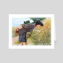 Admiring Nature - Art Card by Khanh Vy Nguyen