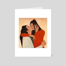 kiss - Art Card by Mash