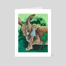 Fairy Scout - Art Card by Rebecca Solow