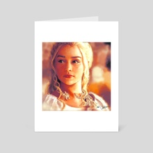 Mother of Dragons - Art Card by MARK CLARK II