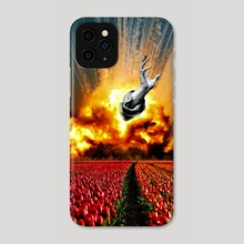 Tulip Apocalypse - Phone Case by Anthony Knott