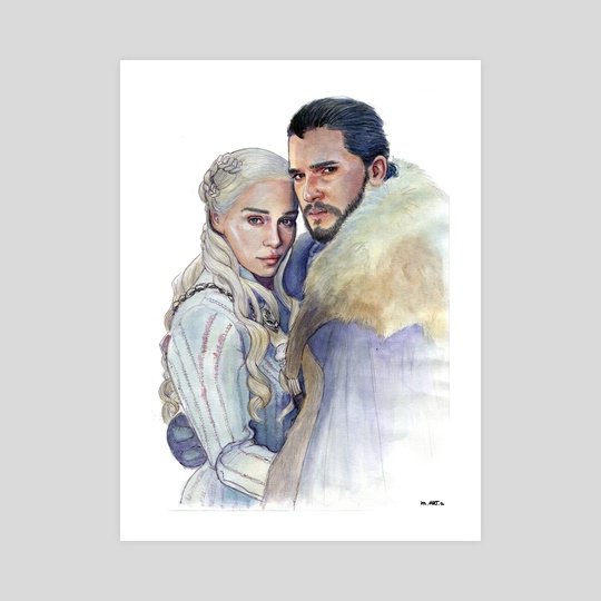 Jonerys by Marta  Dasic