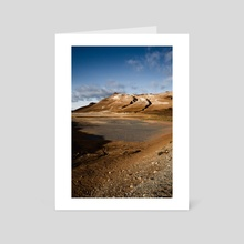 Iceland 01 - Art Card by hinomaru