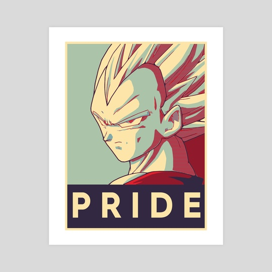 Pride Vegeta by Insanity Saint