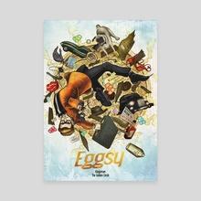 Eggsy - Canvas by Xav DRAGO