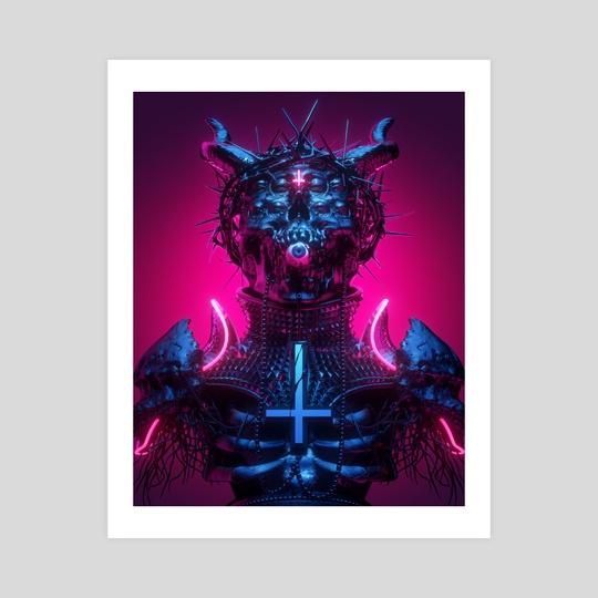 Neon Demon I by sick 666 mick