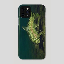 Rainbow Trout: Big Horn River, Fort Smith, Montana - Phone Case by Alberto Rey