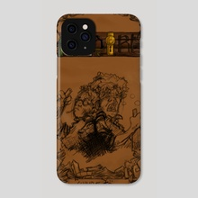 Albert - The Art book - Cover - Phone Case by Benjamin Fauvel