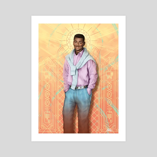 Carlton Banks - The Fresh Prince Of Bel Air by Ladislas Chachignot
