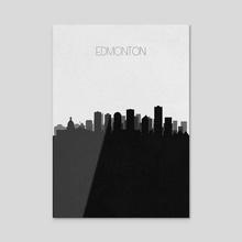 Edmonton - Acrylic by Deniz Akerman