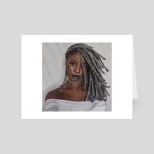 Black - Art Card by Andy Art