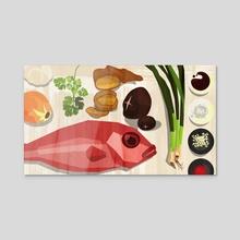 Kitchen Fun 03 - Acrylic by Jesse Harp