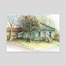 125 Park St. W Dundas - Canvas by Danuta Niton