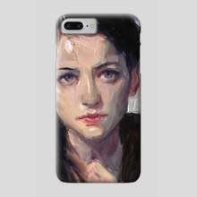 In Black - Phone Case by John Larriva