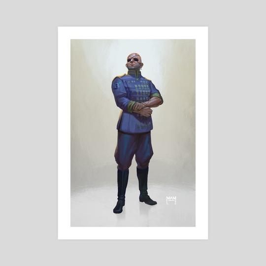 Commander Repeatski by Marton Adam
