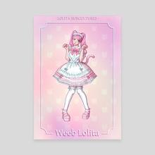 Weeboo Lolita - Canvas by Sad Cat