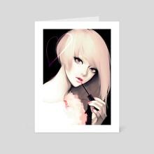 Gloss - Art Card by dahlia Takenaka
