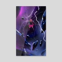 Cyberpunked Wattson - Acrylic by Yakovlev Art