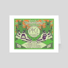 PKL Season 16 Week 14 - Art Card by Dan Freitas