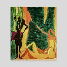 Jungle - Canvas by Cristian Armenta